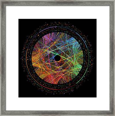 Phi Transition Paths Framed Print