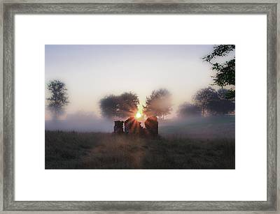 Philadelphia Cricket Club At Sunrise Framed Print