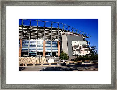 Philadelphia Eagles - Lincoln Financial Field Framed Print by Frank Romeo