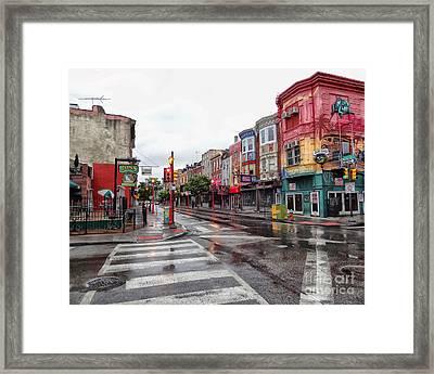 Philadelphia South Street 4 Framed Print by Jack Paolini