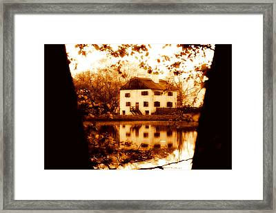 Framed Print featuring the photograph Philipsburg Manor by Aurelio Zucco