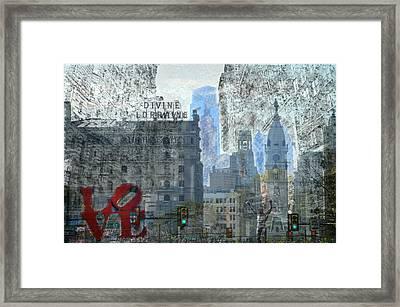 Philly Framed Print