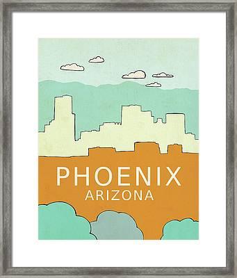 Phoenix Framed Print by Lisa Barbero