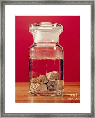 Phosphorus In A Jar Framed Print by Andrew Lambert Photography