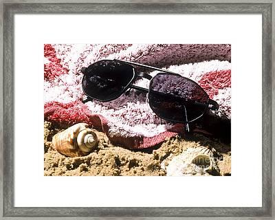 Photochromatic Sunglasses Framed Print by Martyn F. Chillmaid
