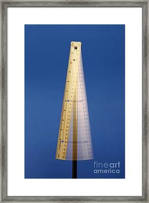 Physical Pendulum Framed Print