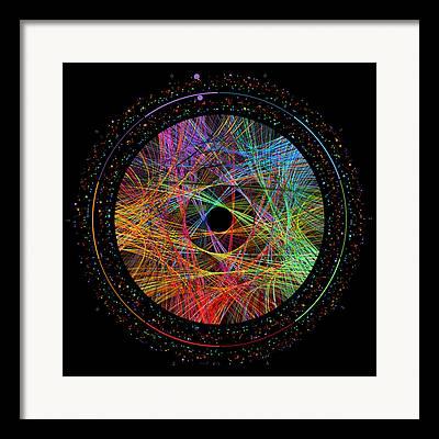 Celebration Digital Art Framed Prints