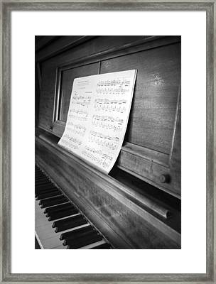 Piano Man Framed Print by Jerry Cordeiro