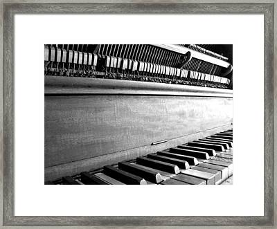 Piano Framed Print by Thomas Leon