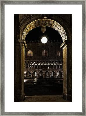 Piazza San Marco Framed Print by Marion Galt