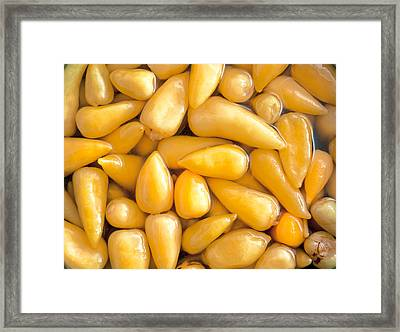 Pickled Peppers Framed Print