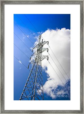 Pillar Of Power Framed Print by Jorgo Photography - Wall Art Gallery