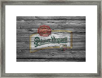 Pilsner Urquell Framed Print by Joe Hamilton