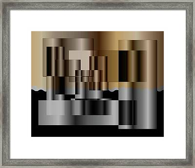 Pipes Framed Print