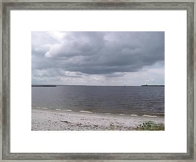 Pirate's Harbor Framed Print by Frederick Holiday