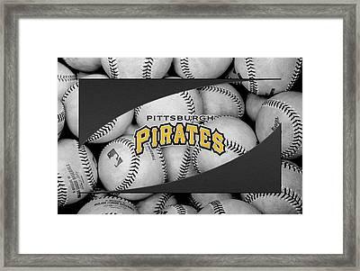 Pittsburgh Pirates Framed Print