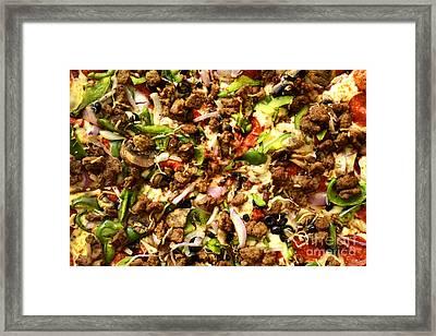 Pizza Heaven Framed Print