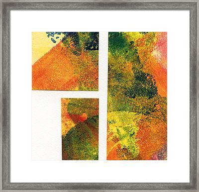 Planet Rising Framed Print