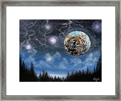 Planet X Niburu Framed Print by Jim Bowers