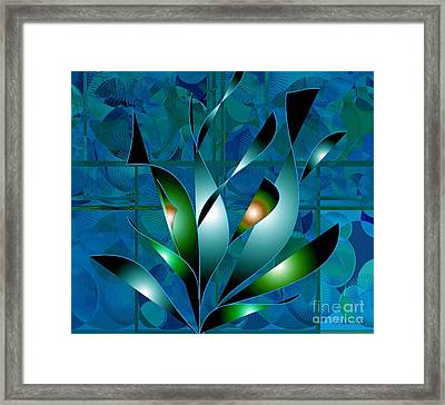 Planted Beauty Framed Print by Iris Gelbart