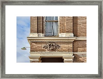Plattsmouth Corner Framed Print by Nikolyn McDonald