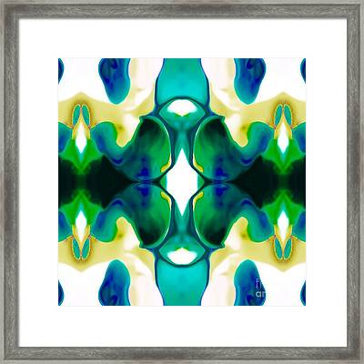 Playful Framed Print by Gayle Price Thomas