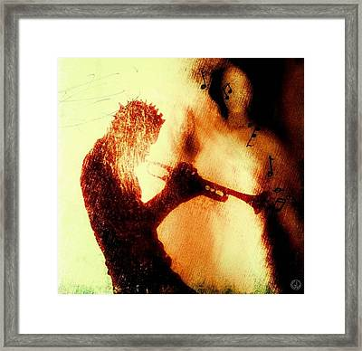 Playing Just For You Framed Print