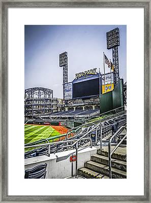 Pnc Park Framed Print by Chris Smith
