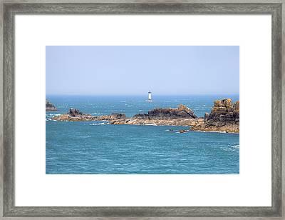 Pointe Du Grouin - Brittany Framed Print by Joana Kruse