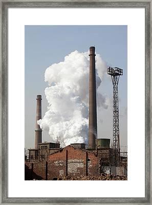 Pollution Framed Print