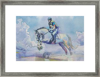 Polo Art Framed Print by Catf