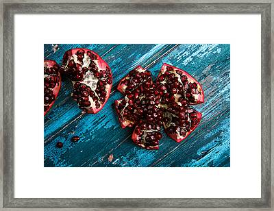 Pomegranate Framed Print