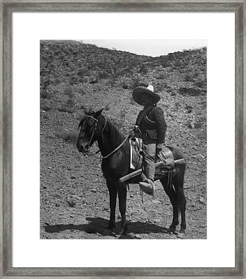 Poncho Villa Framed Print by Retro Images Archive