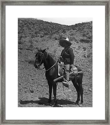 Poncho Villa Framed Print