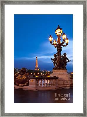 Pont Alexandre IIi Framed Print by Brian Jannsen