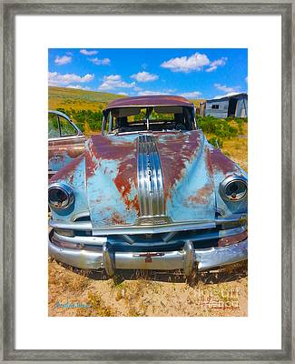 Pontiac Blues Framed Print