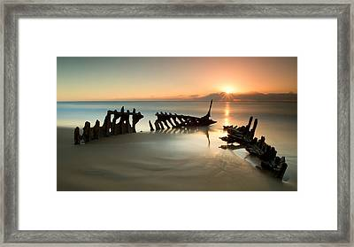 Poor Judgement Framed Print