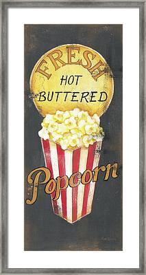 Popcorn Framed Print by Kim Lewis