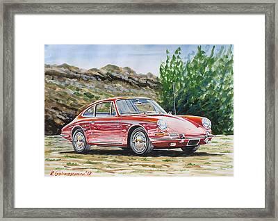 Porsche 911 Framed Print by Rimzil Galimzyanov