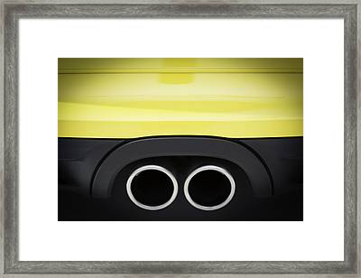 Porsche Cayman S Framed Print by Sebastian Musial