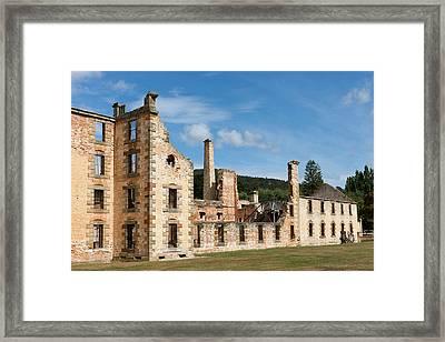 Port Arthur Historic Site Framed Print by Martin Zwick