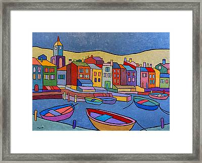 Port In Spain Framed Print by Joe Esposito