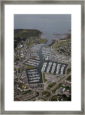 Port Navalo And Le Crouesty, Arzon Framed Print