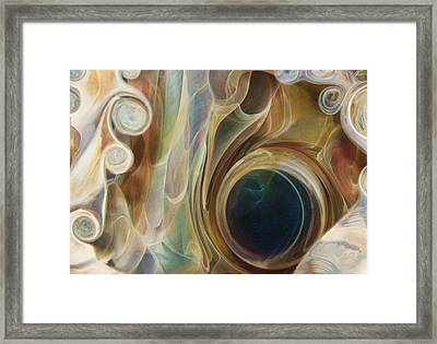 Portal Framed Print by Jubilant  Art