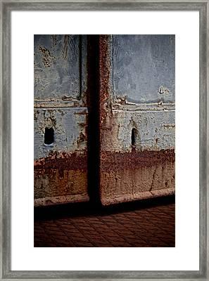 Portal Framed Print by Odd Jeppesen