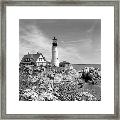 Portland Head Lighthouse Framed Print by Mike McGlothlen