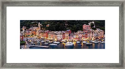 Portofino Italy Framed Print by Carl Amoth