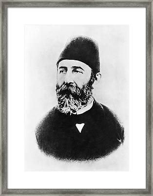 Portrait Of Djemal Pasha Framed Print by Underwood Archives