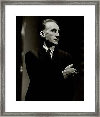 Portrait Of Marcel Duchamp Framed Print