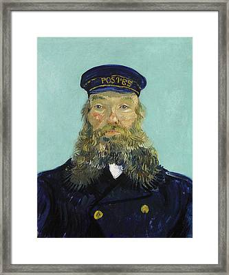 Portrait Of Postman Roulin Framed Print